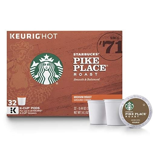 Decaf K Cup 咖啡胶囊 32颗