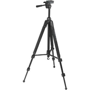 Starting from $14.95Magnus DX-3320 Deluxe Photo Tripod With 3-Way Pan-and-Tilt Head