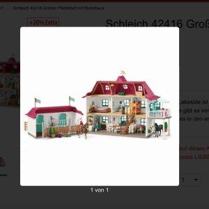 Schleich别墅玩具模型