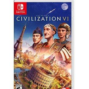 $19.99(原价$38.82)史低价:Switch版 文明6《Sid Meier's Civilization VI》