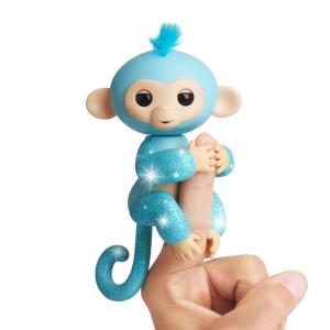 $15.99史低价:WowWee 手指猴电子宠物 触控智能玩偶 四色可选