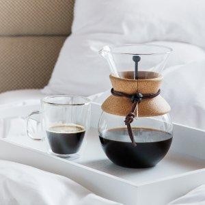 低至5折 一体式手冲壶$24Bodum 丹麦设计美学 咖啡茶具等热促