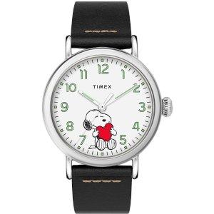 TimexStandard x Peanuts 情人节手表