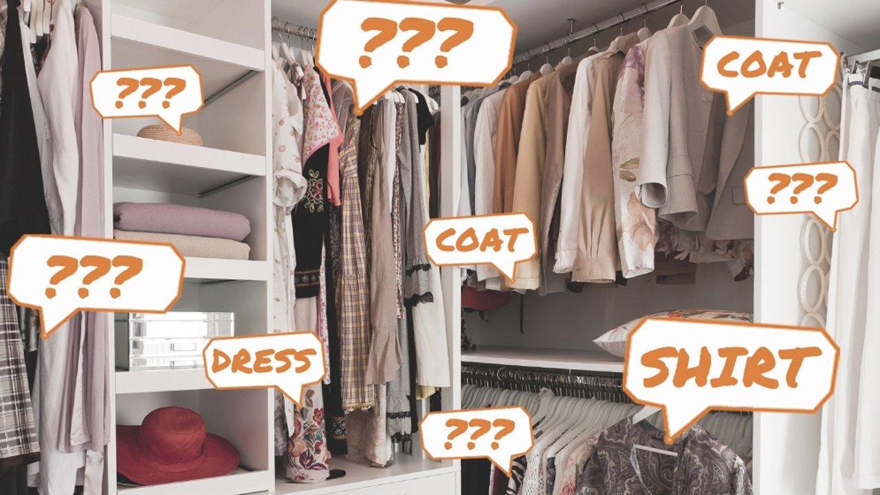 衣服英文名称大科普!在北美买衣服再也不怕词穷了!