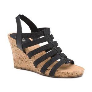 Louisa Comfort Wedge Sandal - Heels & Wedges - Women - Factory Outlet - G.H. Bass & Co.