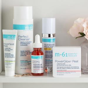 50% Off + Full Size Giftbluemercury M-61 Skincare Sale