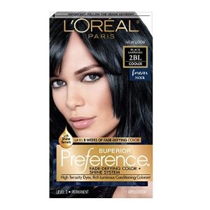 $2.55L'Oréal Paris Superior Preference Permanent Hair Color, 2BL Black Sapphire