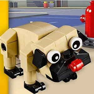 Last Day: Free Cute PugWith $35+ Purchase @ LEGO Brand Retail