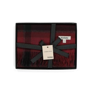 Boxed Wool Blend Ombre Plaid Scarf | Gifts For Him | Marshalls