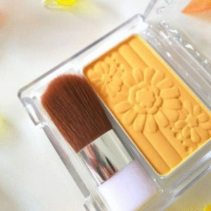 $5.1 / RMB31.8突破配色 CANMAKE 新品限定 雕刻单色腮红 PW40 黄色 史低价
