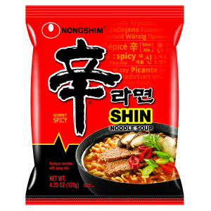 $16.66 一包$0.83Nongshim 经典韩国农心辛拉面 20包装 $16.66