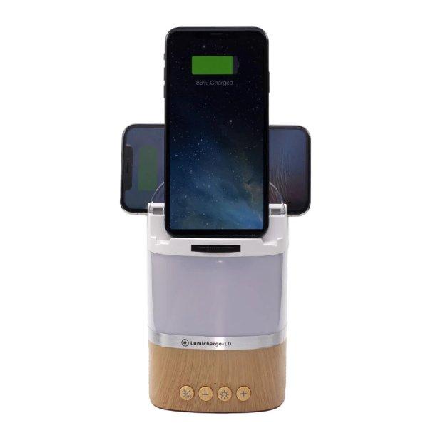 LumiCharge-LD 台灯、音箱、无线充电器三合一