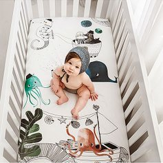 Last Day: Starting at $24.99Rookie Humans Fitted Crib Sheet Sale @ Zulily
