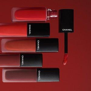 全场8折 €22.4收coco唇蜜限今天:Chanel 香奈儿 唇妆闪促 收山茶花唇膏、哑光唇釉#154
