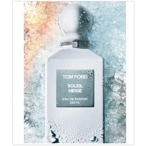 有晶莹而冰冷的香味,模仿雪上阳光带来的静谧新品上市:Tom Ford 2019新香 Soleil Neige 浓香水 8折+赠品