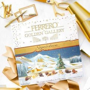 $16.99 节日季送礼佳选Ferrero Rocher 2019年圣诞日历巧克力礼盒 25颗装