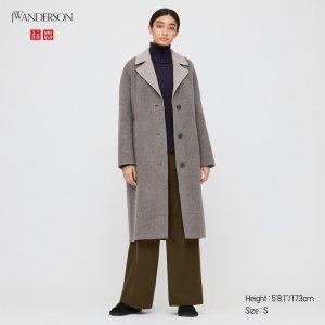 Uniqlo双色可选长腰大衣