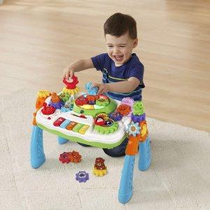低至5.6折 多款经典玩具都参加VTech 学前幼儿玩具促销,音乐桌 $27.99入