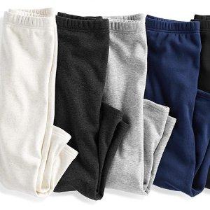 包邮+$8/条活动自如又保暖折扣升级:OshKosh BGosh 儿童、婴儿抓绒裤子3.6折 1条顶3条