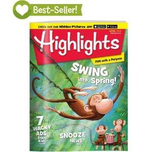 Highlights6-12岁杂志3本