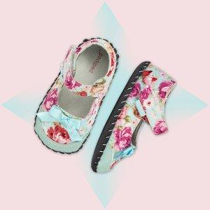 买2双送1双  最低$13.33/双最后一天:pediped OUTLET 婴儿Originals系列学步鞋促销
