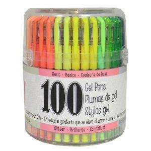 彩笔 100支