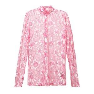 CALVIN KLEIN - floral lace top
