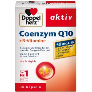 30粒仅售€5.8Doppelherz 双心辅酶Q10 为心血管注入活力 助力免疫