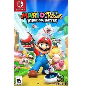 $24.99(原价$59.99)任天堂育碧联手之作《马里奥+疯兔:王国之战》Switch版