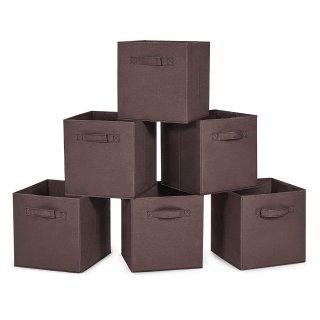 $8.99 销量冠军MaidMAX 家用可折叠收纳箱  6个装