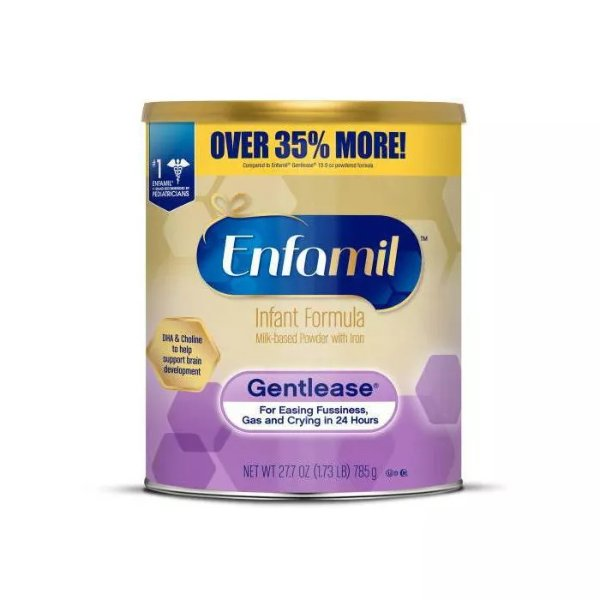 Gentlease 婴儿奶粉 - 27.7oz