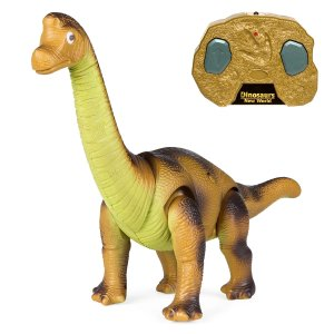 Best Choice Products17.5in Kids Remote Control Stomping and Roaring Dinosaur Brachiosaurus Toy