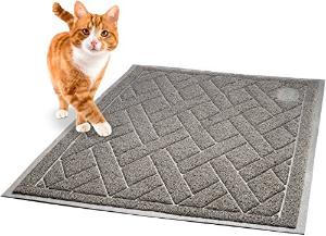 $13.49(原价$16.99)闪购:Pawkin 耐用优质猫砂垫