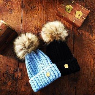 6折 + 额外8折Hortons 英格兰 羊毛球帽, 冬日围巾全新上线