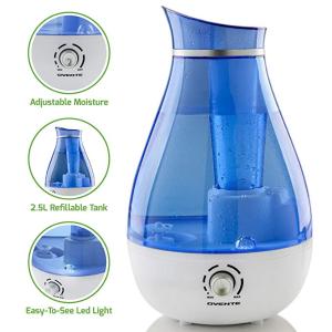 $20(原价$25)闪购:Ovente 空气加湿器 2.5L
