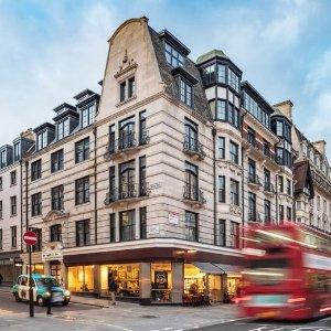双人间£125/晚起 原价£275.5伦敦市中心 科文特花园4星酒店 The Resident Covent Garden
