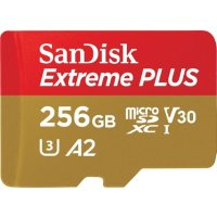 SanDisk Extreme Plus 256GB microSDXC UHS-I 存储卡