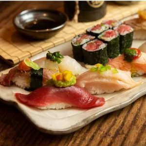$24Kikoo Sushi Two Hours of Sushi for One with Two Beers, Wine, or Sake