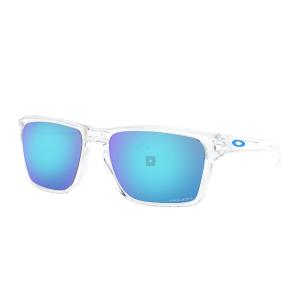 OakleySylas - Polished Clear - Prizm Sapphire - OO9448-0457 |US Store