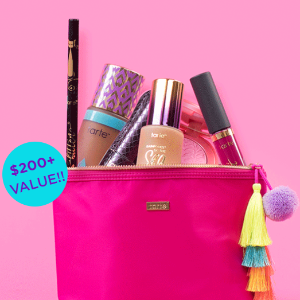 Only $63 ($200+ Value)For Creating a 7-pc Custom Kit @ Tarte Cosmetics