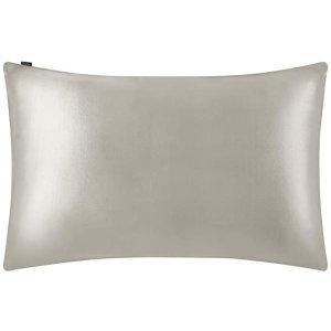 40cm×80cm 灰色真丝枕套