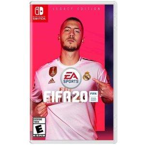 $39.99 (原價$59.99) 新作上市《FIFA 20 標準版》Switch / PS4 / Xbox One 實體版