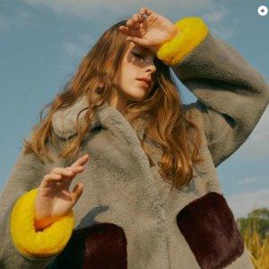 3折起+叠8折 仅£55起!折扣升级:W Concept 泰迪熊外套专场 毛茸茸、软乎乎 速收当季最佳穿搭