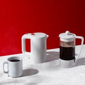 低至3.6折Bodum 来自丹麦的网红法压壶、旅行杯等热卖 开启品质生活