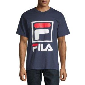 Fila男款短袖T恤
