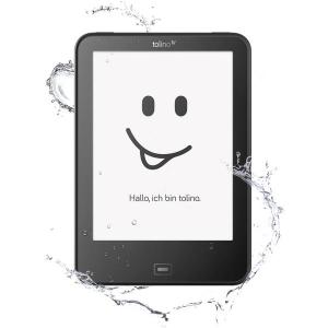 德国销量第一墨水屏电子书 tolino vision 4 HD  防水+背光+安卓+纯平屏幕+敲背翻页