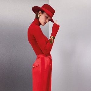 Register to win limited-edition bookmarkEscada X Rita Ora Collection