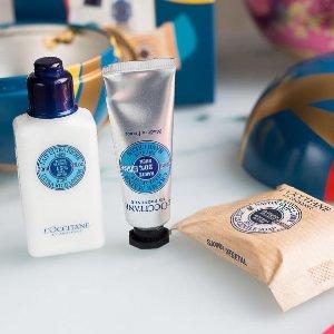低至8折L'Occitane 精选护手霜、护肤品、身体护理系列 热卖