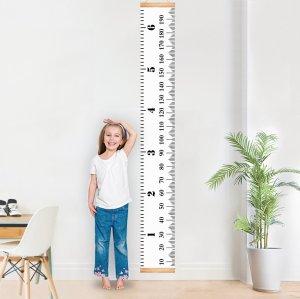 优惠价 $13.99再降!MIBOTE 儿童成长身高测量尺,悬挂式