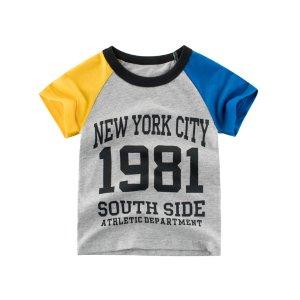 Summer Short Sleeve T-Shirt - Charcoal 1981 - Imarya